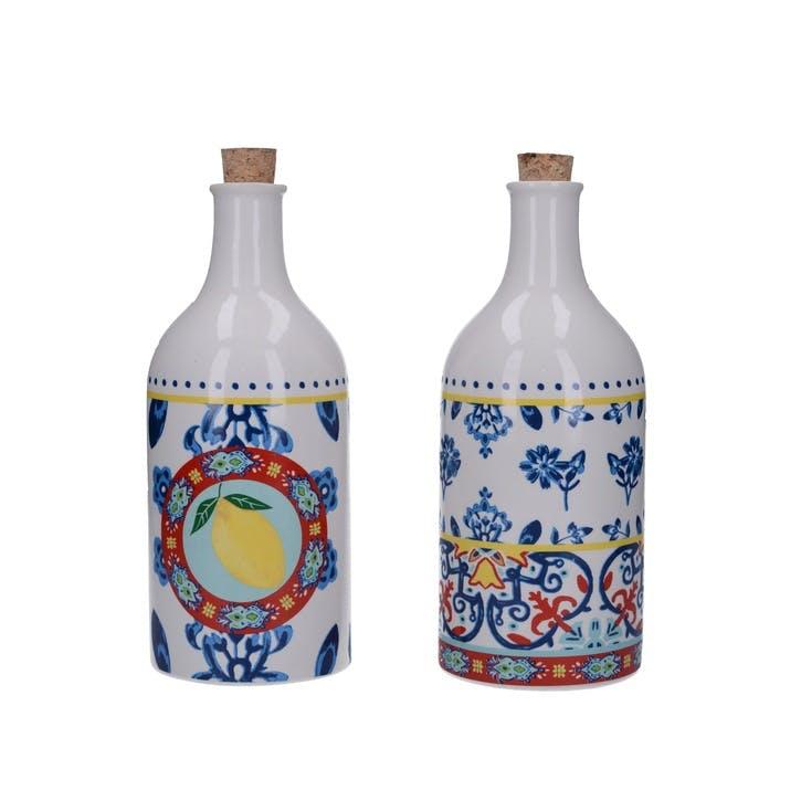 Ceramic Oil and Vinegar Bottle, Set of 2