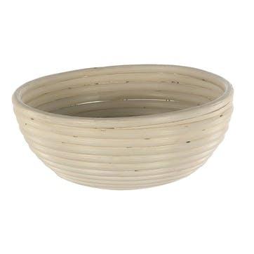Natural Cane Round Banneton Basket, 25cm