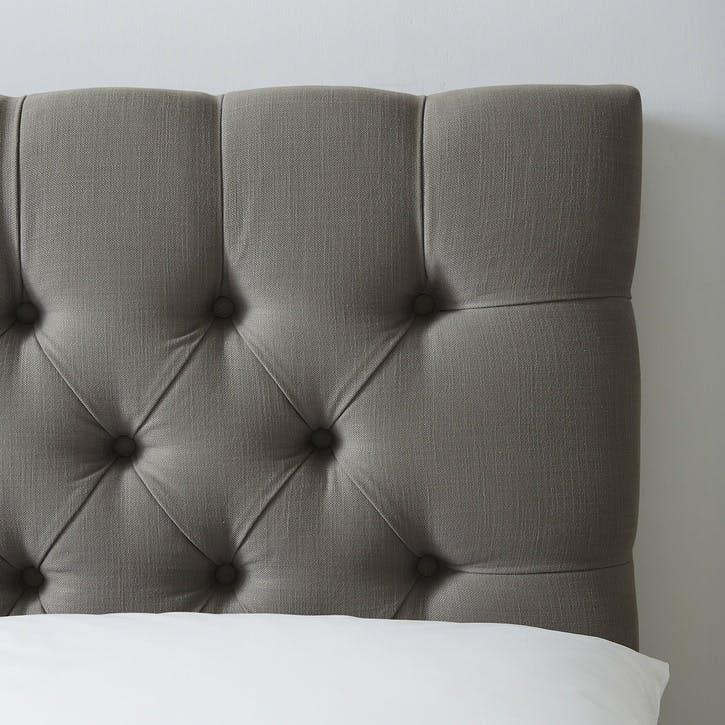 Richmond Cotton Bed, Double, Grey