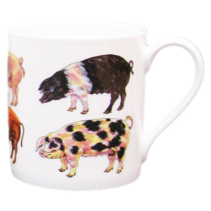 Pigs Large Mug - 9cm x 8cm
