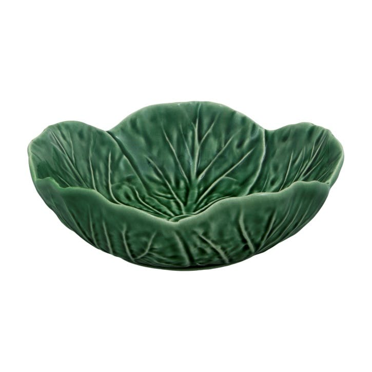 Cabbage Bowls, Set Of 4, 15cm, Green