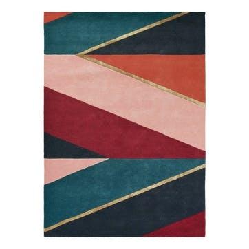 Sahara, Rug, 170 x 240cm, Burgundy