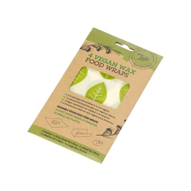 Vegan Wax Wrap, Set of 4