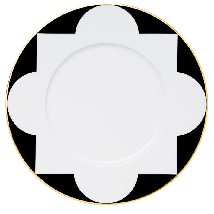 Ca' D'Oro Gold Rimmed Charger Plate