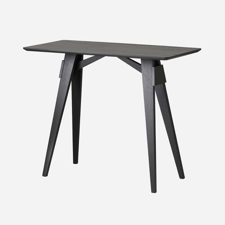 Arco, Side Table, Black