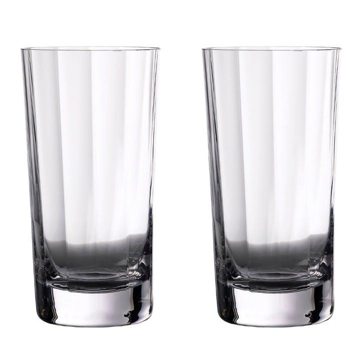 Elegance Optic Gin Hi Ball Glass, Set of 2