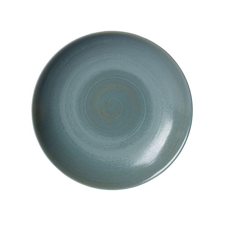 Studio Glaze Coupe Plate - 21cm; Ocean Whisper