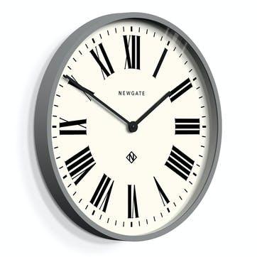Italian Clock, 53cm; Posh Grey