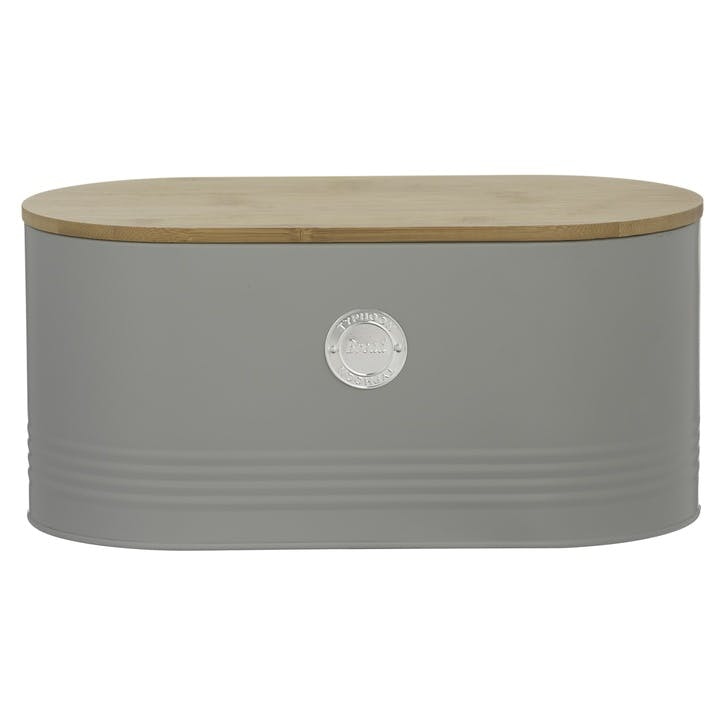 Living Bread Bin, Grey