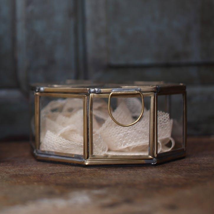 Bequai Star Pot - Small; Brass