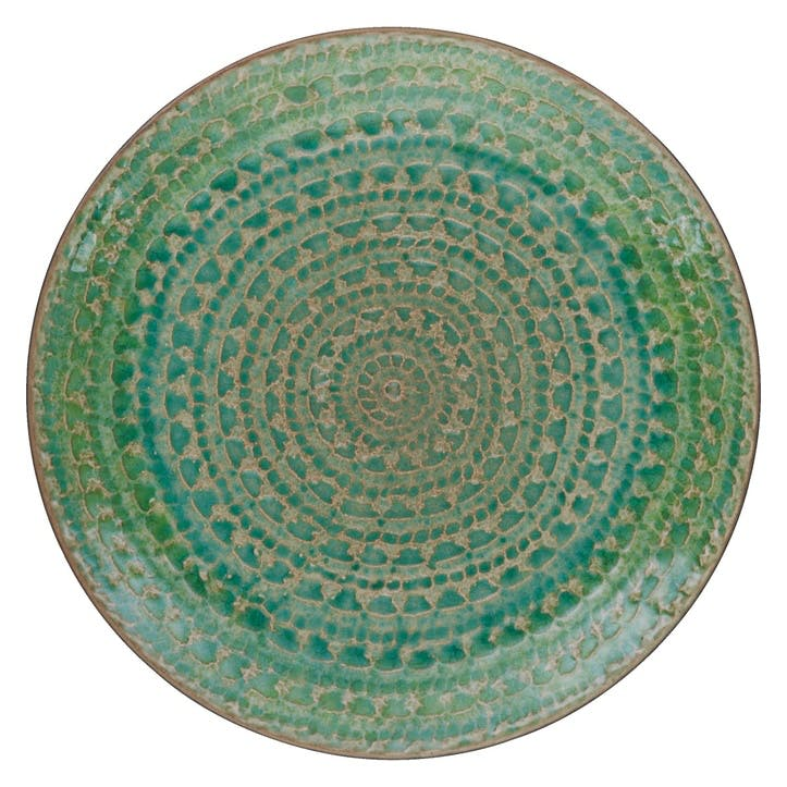 Sintra Side Plate, Green