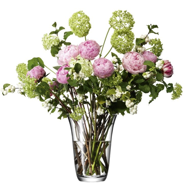 LSA Flower Open Bouquet Vase 23cm