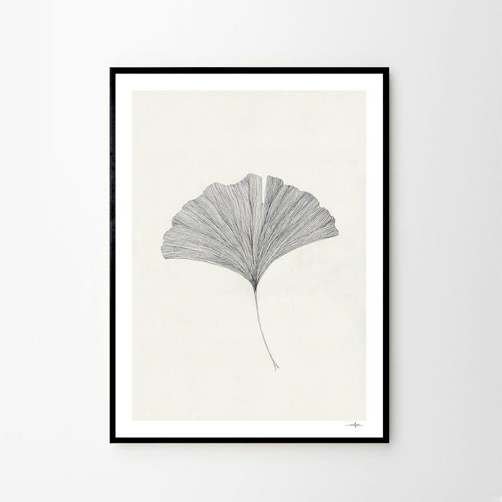 Grinko Leaf - Ana Frois Art Print D50cm x H70cm