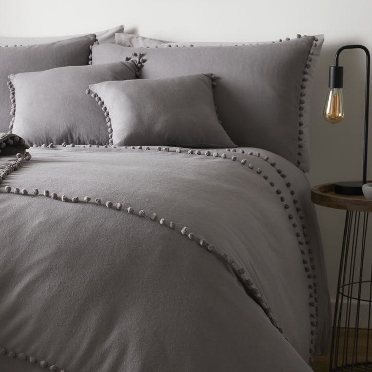 Paignton Bedding Set, King, Slate