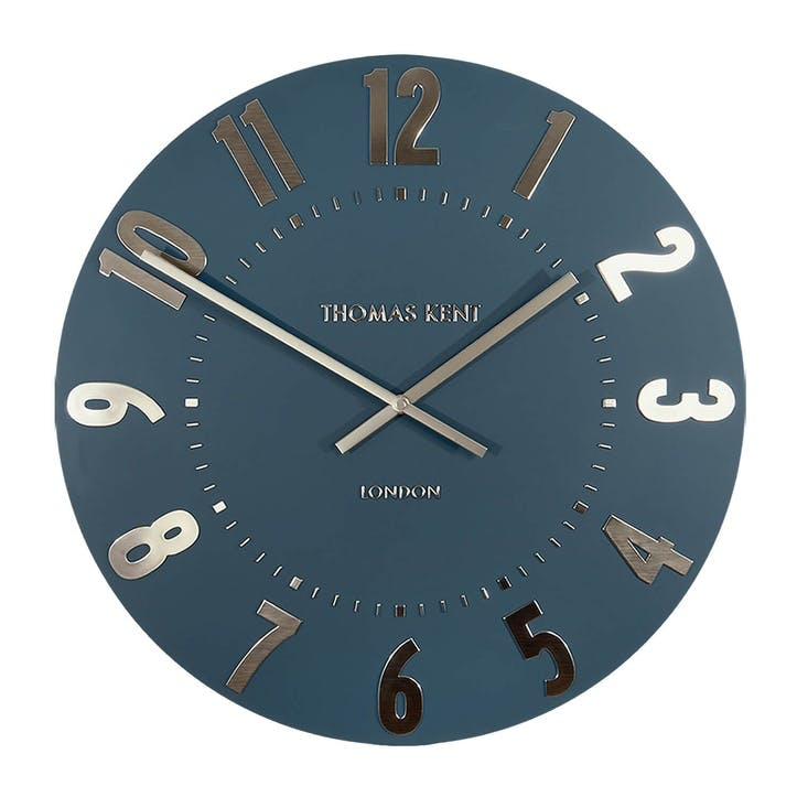 Mulberry Clock, 51cm, Midnight Blue
