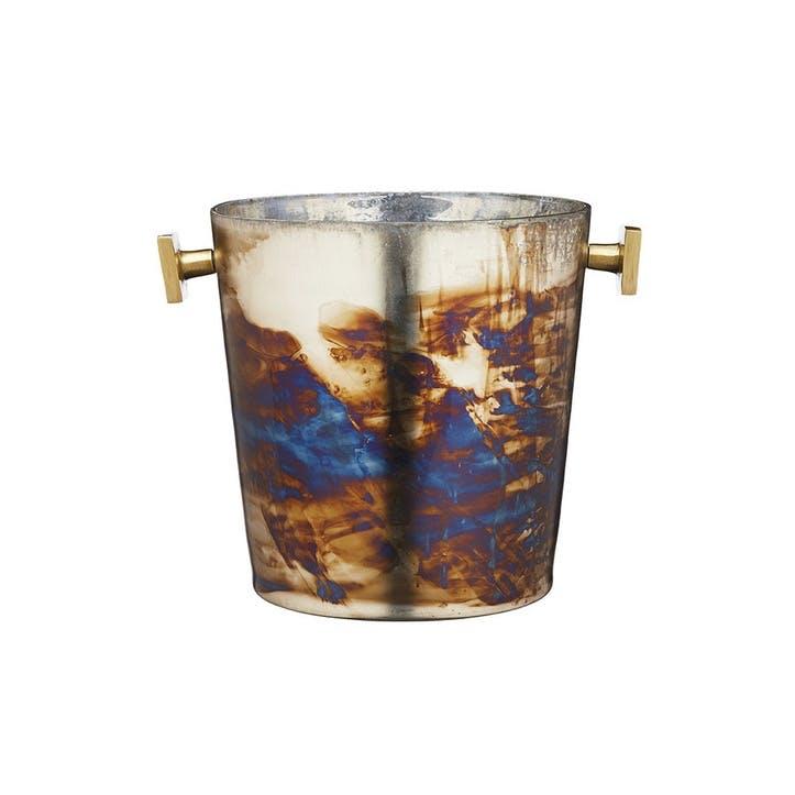 Mercury Fired Glass Wine Bucket