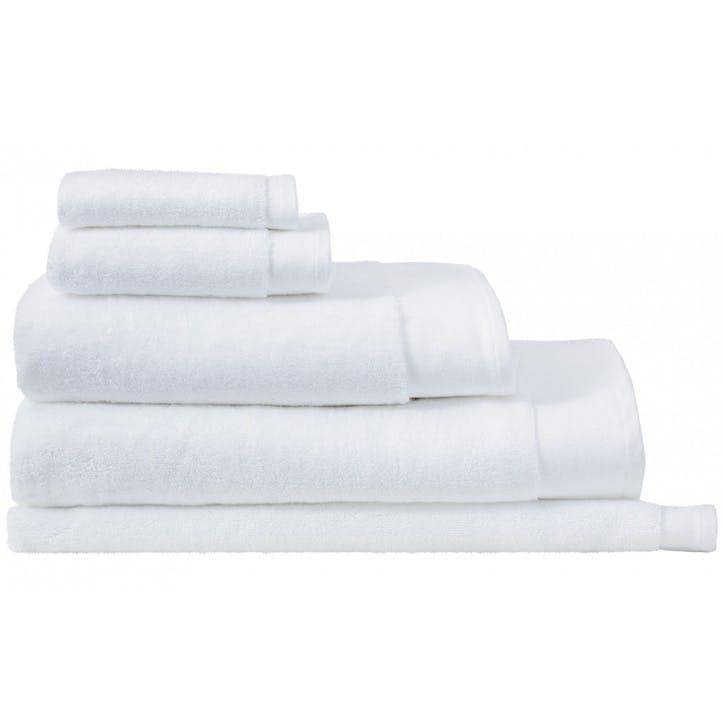 Luxury Retreat White Hand Towel