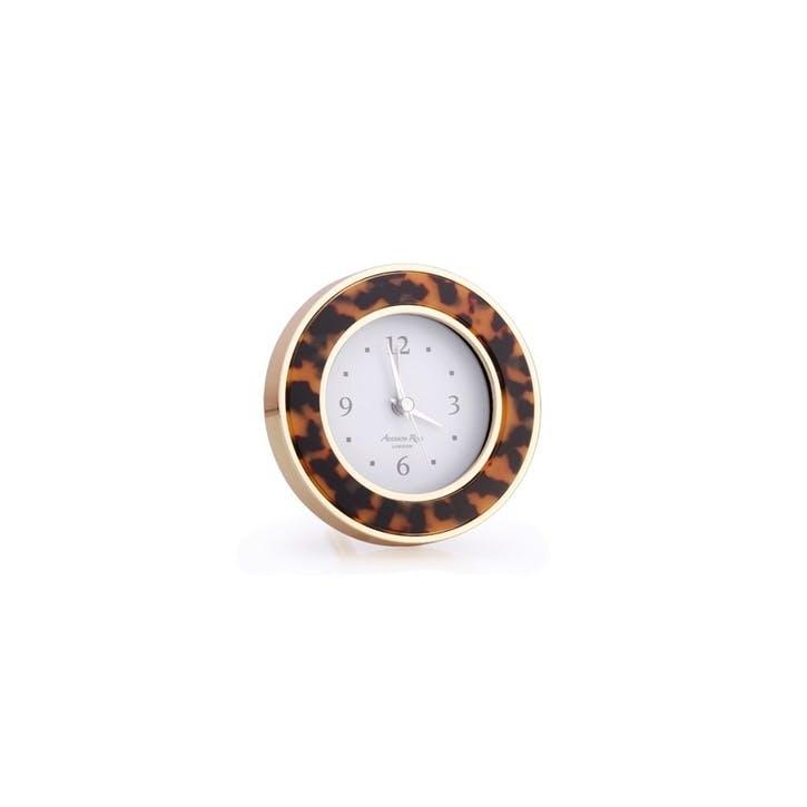 Alarm Clock; Tortoise & Gold