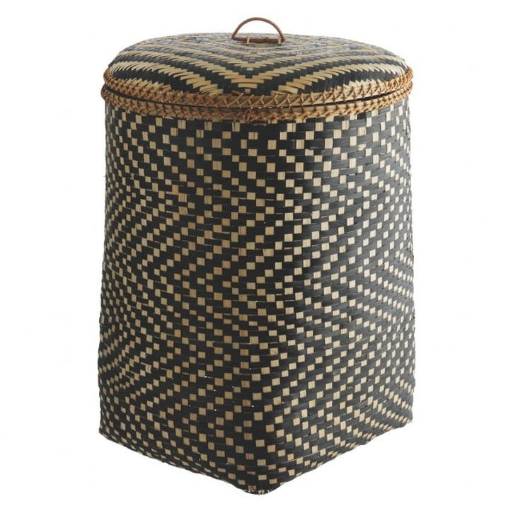 Idaho Bamboo Laundry Basket