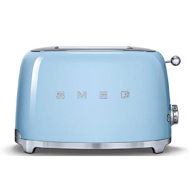 2 Slice Toaster, Pastel Blue