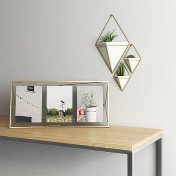 Prisma Multi Frame, Brass