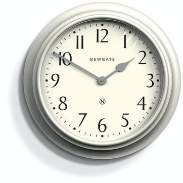Westhampton Clock, D50cm, Linen Grey