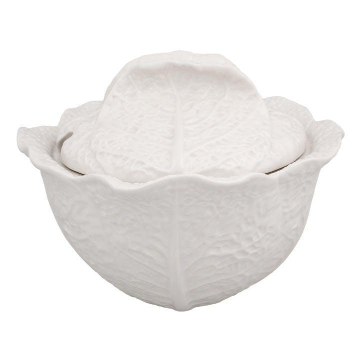 Cabbage Tureen, 3 Litre, Beige