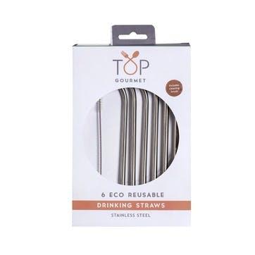 Stainless Steel Reusable Metal Straws