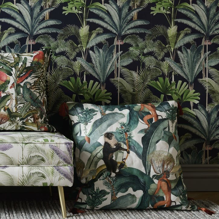 Tropical Story Bermuda Cushion
