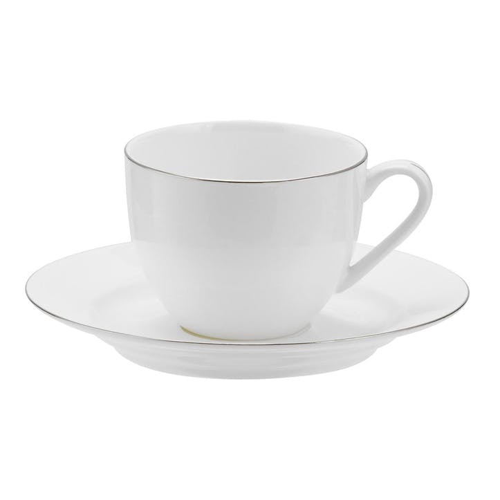 Serendipity Teacup & Saucer, Set of 4