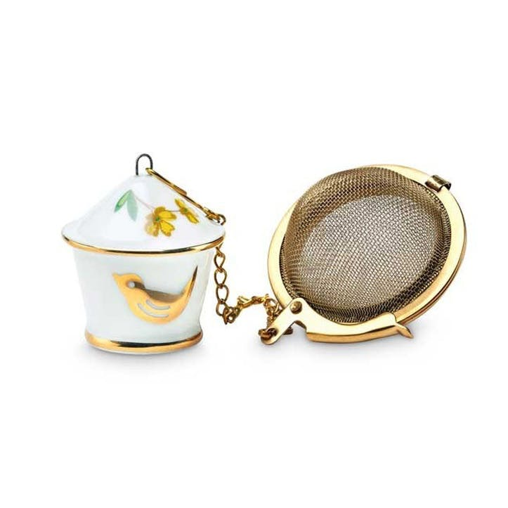 PiP Floral Bird House Tea Infuser