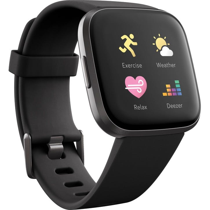 Versa 2 Smart Watch, Black
