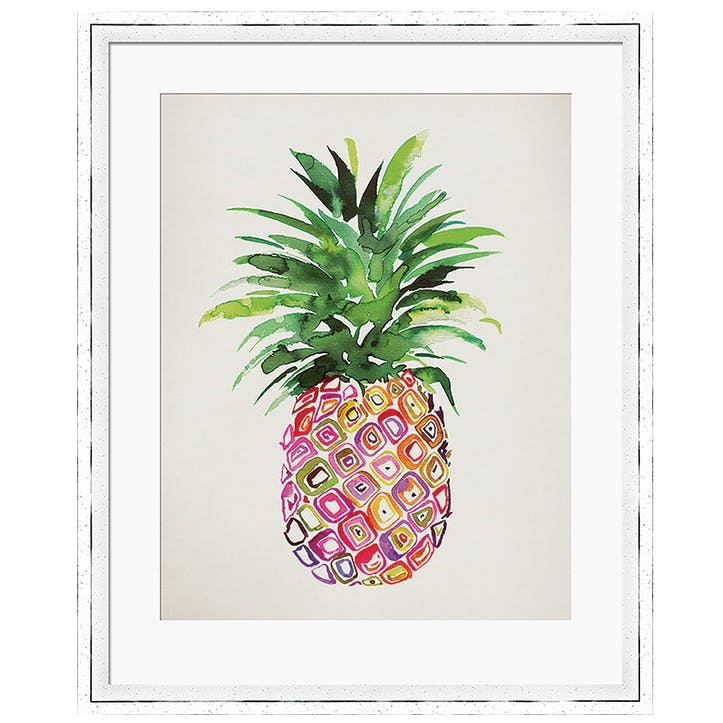 Summer Thornton Pineapple Framed Print, 55 x 45cm