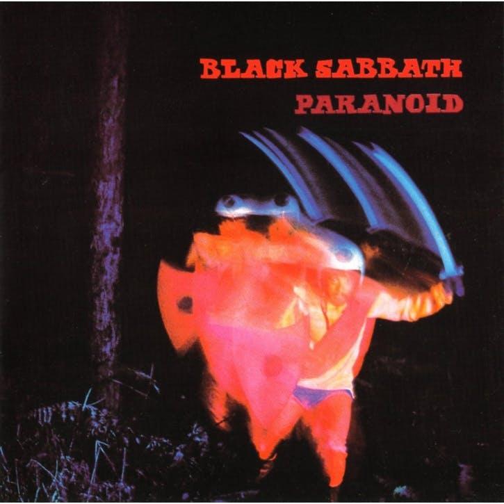 "Black Sabbath, Paranoid 12"" Vinyl"
