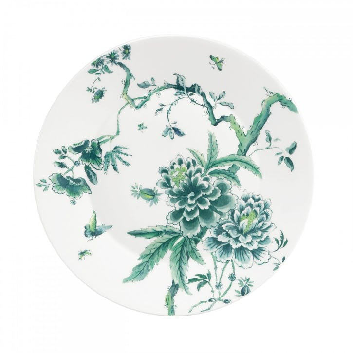 Chinoiserie Dinner Plate, White