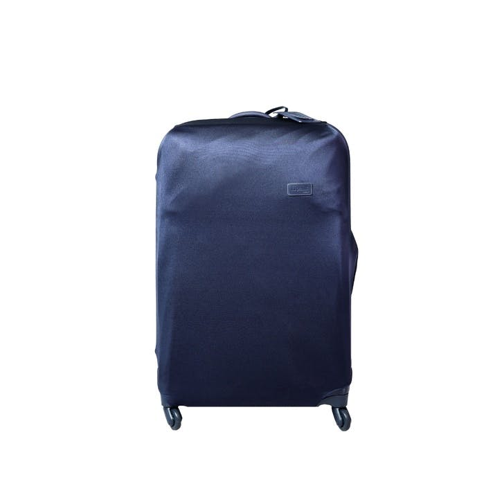 Plume Premium Luggage Cover, Navy