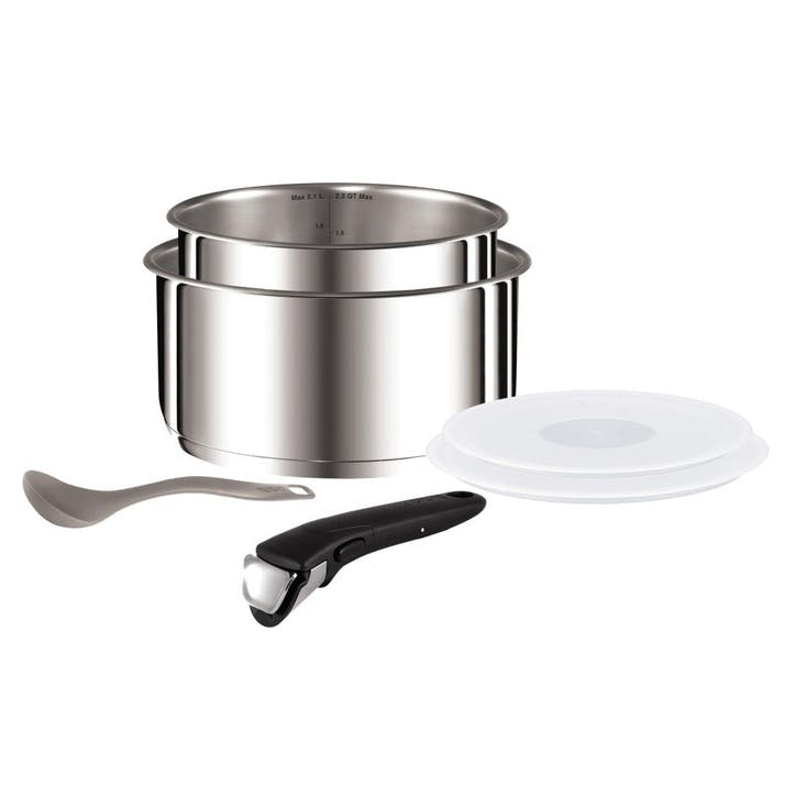 Ingenio Stainless Steel 6 Piece Saucepan Set