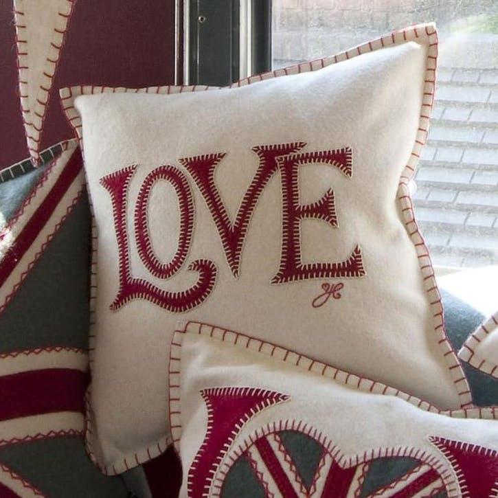 Love Cushion, Cream