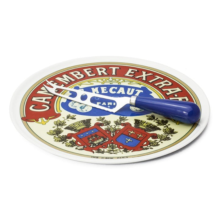 Camembert Cheese Platter & Knife Set