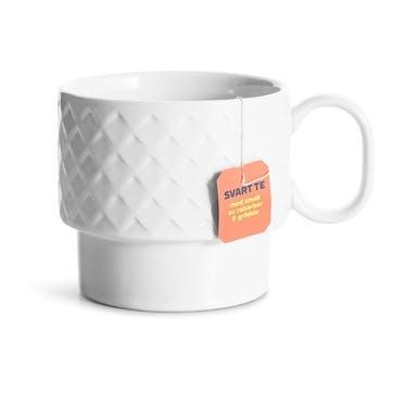 Coffee & More, Tea Mug, 400ml, White