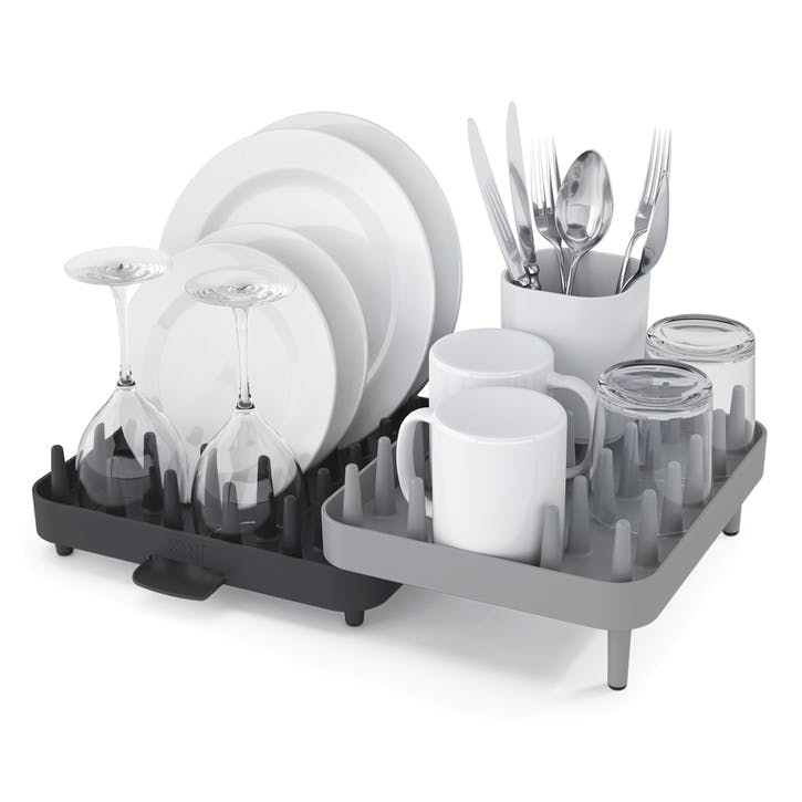 Connect Adjustable Dishrack, Grey