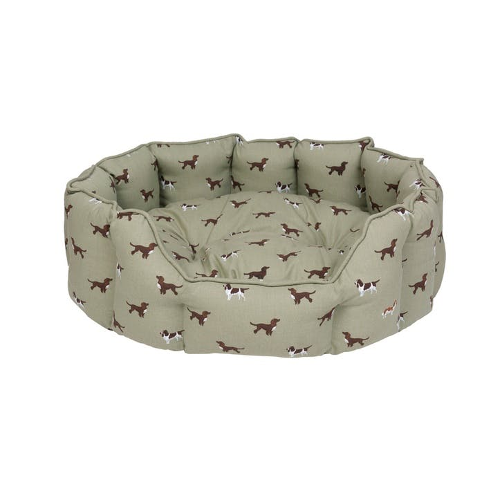 'Spaniels' Pet Bed, Large