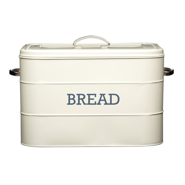 Living Nostalgia Bread Bin in Antique Cream