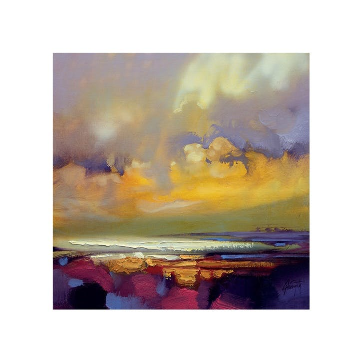 Scott Naismith Rising Canvas Print - 85 x 85cm