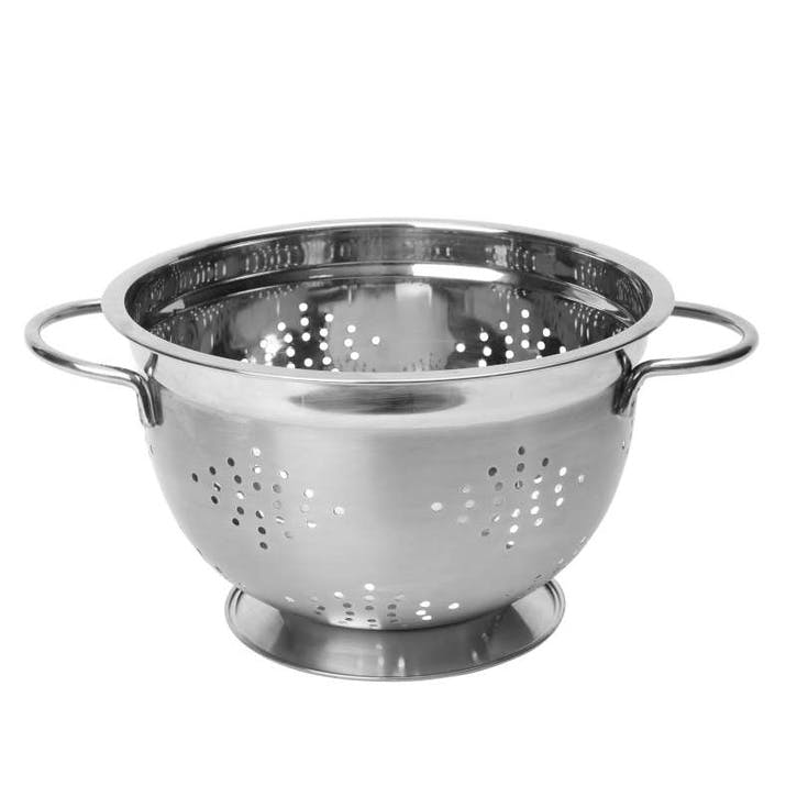 Stainless Steel Footed Colander, 26cm