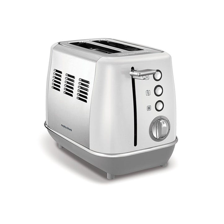 Evoke 2 Slice Toaster; White