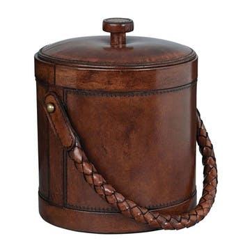 Saddle Leather Aberdare Ice Bucket
