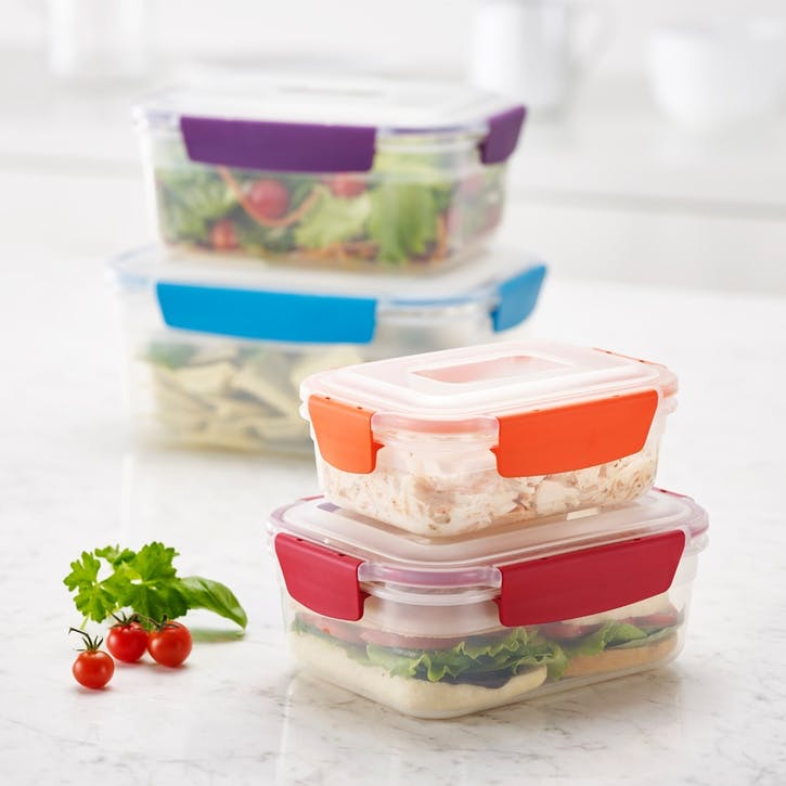 Nest Storage Box, Set of 4, Multi-Colour