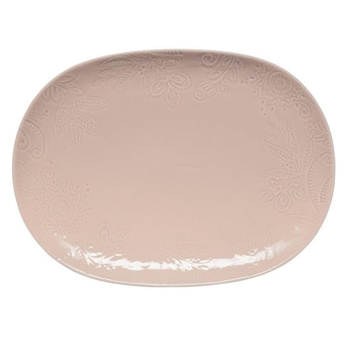 Gather Large Platter, Pink