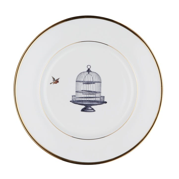 Urban Nature Birdcage and Bird Side Plate